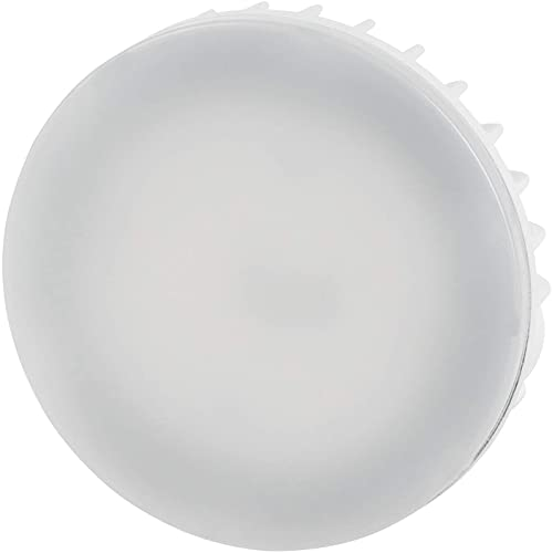 Lampadina LED GX53, 8 Watt, 800 lumen, CRI 80Ra, antiriflesso, angolo di diffusione 120°, luce bianca diurna (4000 K)