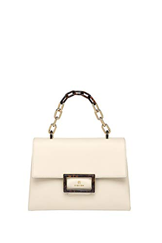 Aigner Damen Handtasche Vicenza M Antique White