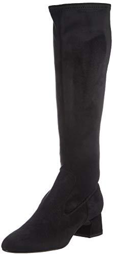 Unisa Damen Overknee-Stiefel, Black, 36 EU