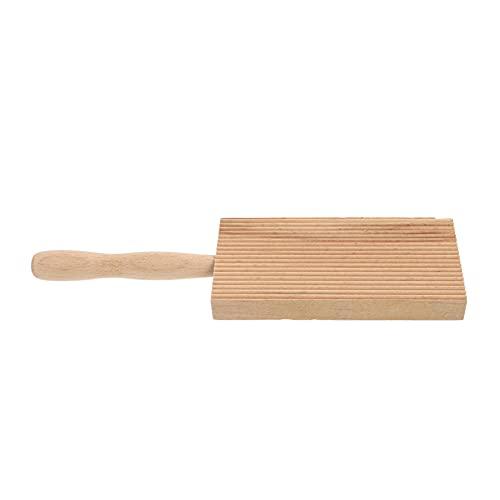 YARNOW Ñochi Paddle Madera Ñochi Stripper Ganelli Pasta Maker Mantequilla Board Pasta Paddle para Cocina