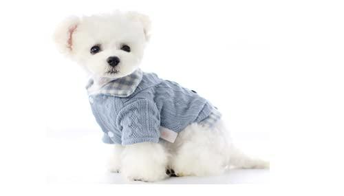 ARMAC Cane Gatto Pet Caldo Autunno Inverno Cappotto Cane Abbigliamento Pullover Cane Tuta per cani...