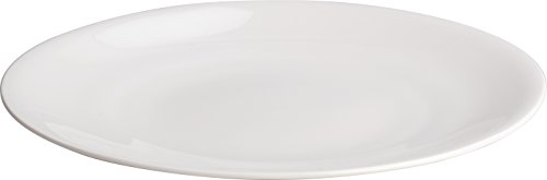 Alessi | All Time AGV29/1 - Design Dining Plates in Bone China, 4 Pieces
