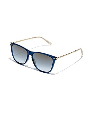 HAWKERS One Crosswalk Gafas de Sol, Navy Gradient Gold, Talla única Unisex Adulto