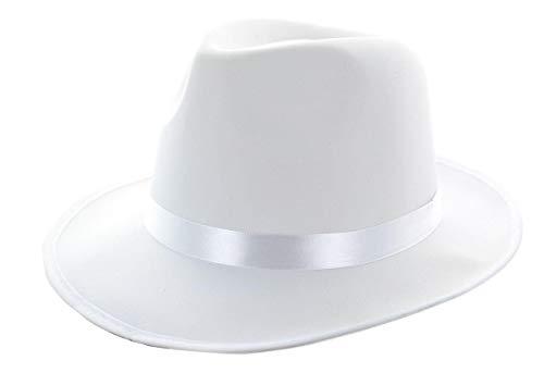 FEDORA SATIN WHITE