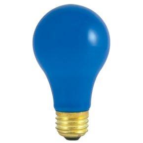 Colored Light Bulbs - Blue Light Bulbs - 40 Watt - Heat Resistant - Ceramic Light Bulb - 120 Volt Light Bulbs - E26 Base - GoodBulb (40 Watt, 1 Pack)