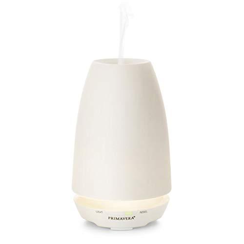 PRIMAVERA Aroma Vernebler Ambiente - elektrische Duftlampe, Diffuser, Raumduft - Aromatherapie - 3 Verneblungs- und Lichtmodi, modern, dezentes Licht