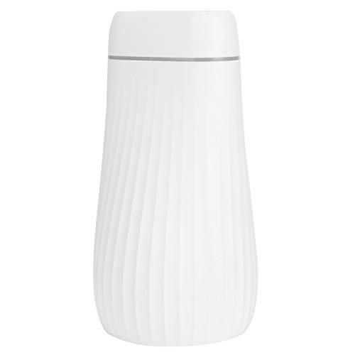 Mist Maker, humidificador de aire de doble boquilla con carga USB, con atomizador de aire ligero colorido para oficina en casa(white)