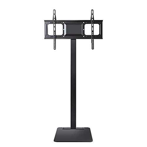 CCAN Soporte de TV Base de soporte de TV de piso universal con soporte giratorio de altura ajustable para televisores de pantalla de 32 37 42 47 50 55 60 65 70 pulgadas, soporte de TV móvil Carrito de