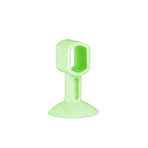 Zoeay 5 Piezas TapóN Silicona Para Puerta Tope,Silicona Anti Choques Punch-Free TapóN La Pared,Protector De Manijas De SuccióN Parachoques Silenciador Silenciador-verde