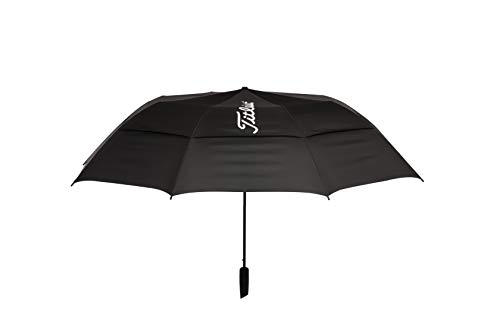 Titleist Players Umbrella Paraguas de Golf, Hombre, Negro, Talla Única