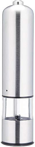 Vita Perfect 1 x Elektrische Salz- und Pfeffermühle mit LED-Beleuchtung aus Edelstahl