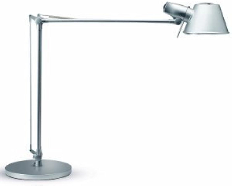 Maul Schreibtischlampe Maulrock mit Leuchtmittel silber