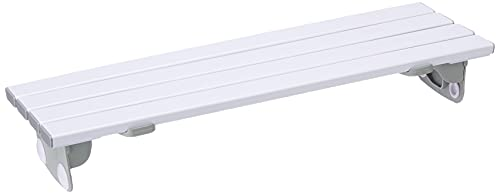 Homecraft Savanah Slatted Bath Board, Strong, Comfortable, and Sturdy Plastic Bath Board, Four Slat Board with Quick Draining Design, 711mm Length and 232mm Wide, (Eligible for VAT relief in the UK)