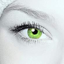 "Farbige Kontaktlinsen""cool green"" 2x grüne Kontaktlinsen ohne Stärke + gratis Kontaktlinsenbehälter - 2"