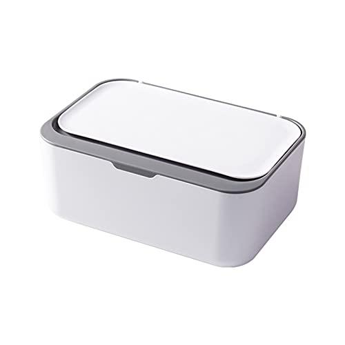 Desktop Tissue Box Cover 7.5x5.1x3.1Inches Tissue Holder Napkin Dispenser Modern Dustproof Tissue Box for Home Office Restaurant