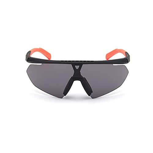 adidas Herren SP0015 Sonnenbrille, Schwarz, Einheitsgröße