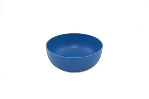 ajaa! Bio Geschirr - Schale aus nachwachsenden Rohstoffen ohne Melamin, ohne Weichmacher wie BPA, plastikfrei (Blue)