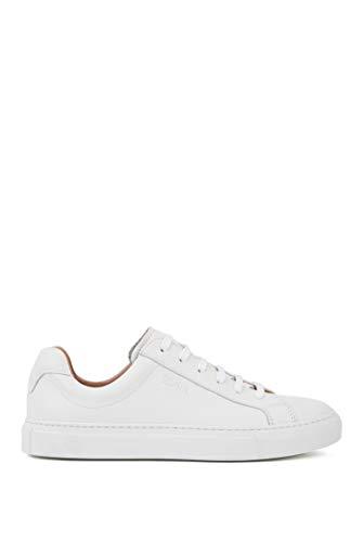 BOSS Damen Katie Low Cut-C Sneaker, White100, 38.5 EU