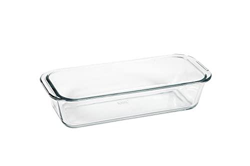 Transparente Glaskuchenform