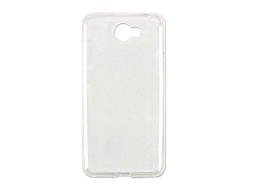 etuo Handyhülle für Huawei Y6 II Compact - Hülle Ultra Slim - Durchsichtig - Handyhülle Schutzhülle Etui Case Cover Tasche für Handy