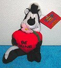 Warner Bros. Studio Store Looney Tunes Mini Bean Bag: A Looney Tunes Year -February BE MINE PEPE LE PEW