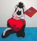 Warner Bros. Studio Store Looney Tunes Mini Bean Bag: A Looney Tunes Year -February BE MINE PEPE LE PEW