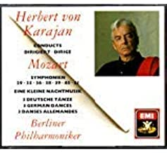 Herbert von Karajan Conducts Mozart: Symphonien 29, 35, 36, 38, 40, 41; Eine Kleine Nachtmusik; Three German Dances
