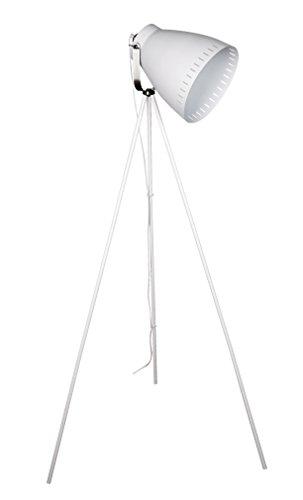 Coluna Luminária de Chão em Metal, New Line, E27, 40W, 64 x 54.5 x 145 cm, Branco, 110V