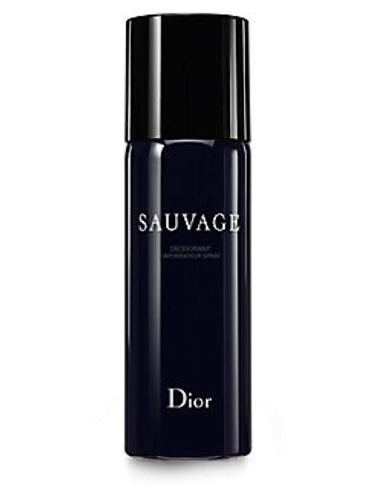 クリームピニオンフライトDior Sauvage (ディオール サベージュ ) 5.0 oz (150ml) Deodorant Spray by Christian Dior for Men