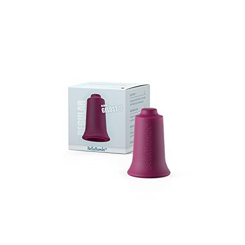 Ventouse BellaBambi MINI, traitement des fascias. Fabriquée en Allemagne - en silicone médical, BellaBambi Ventouse Solo, 1 pièce - REGULAR - Mûre (intensité moyenne)