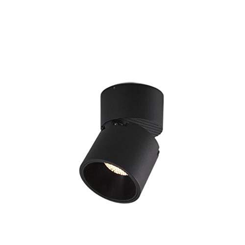 HSCW LED superficial Montado Spotlight Foco plegable COB Honeycomb Anti Glare Downlights...