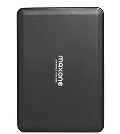 "Disco Duro Externo Portátil DE 2,5"" 500GB USB 3.0 SATA HDD de Almacenamiento para Escritorio, Portátil, MacBook, Chromebook (500GB, Black)"