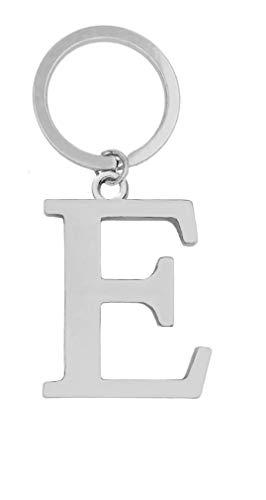 Keyring Letter - Initial Alphabet Key Ring Charm (E)