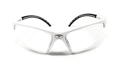 Dunlop Sports I-Armor Schutzbrille, Weiß