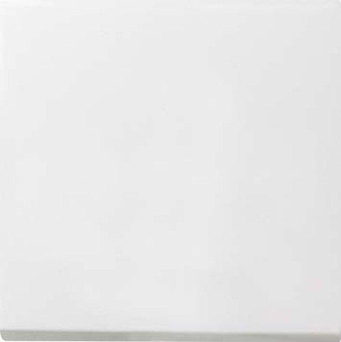Gira 2316112 Aufsatz Schalten Dimmen S2000 Flächenschalter reinweiß glänzend, 2316112