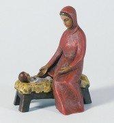 Gelenberg-Krippe Maria mit Barren - Grösse/Maßstab: 18 cm