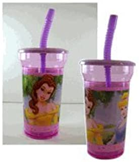 97d97b9aa96 Amazon.com : Disney Princess 16 Oz Tumbler with Lid and Straw ...