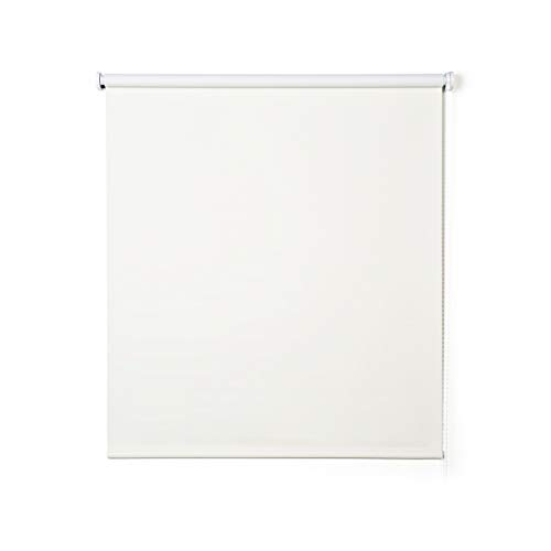 Stores Deco Estor Opaco, Estor Enrollable Blackout para Ventanas y Puertas. (140 cm x 180 cm, Crudo)