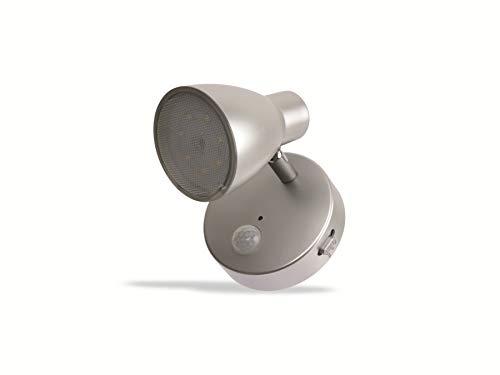 GRUNDIG Spot Light Wandleuchte 7LED mit Sensor Bewegung in Metall Grunding verschiedenen Farben