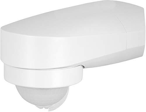 Detector de movimiento IR, 3 en 1, 240°, IP65, 230 V, con sensor crepuscular, para exteriores y entornos húmedos, apto para LED a partir de 1 W, 1200 W