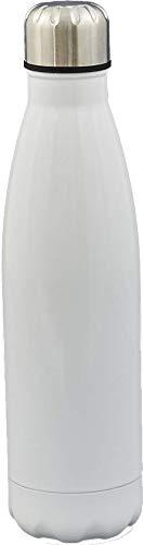 Melograno Borraccia Termica 500 ml. (Metal Bianco)