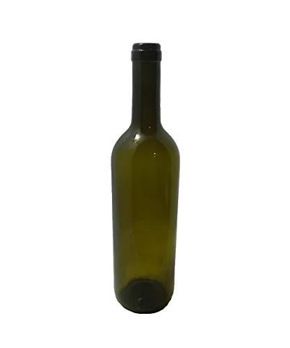20 Bottiglia bordolese cc 750 in pacchi completa di tappo e gabbietta al prezzo di 29,99 euro spedizione gratuita