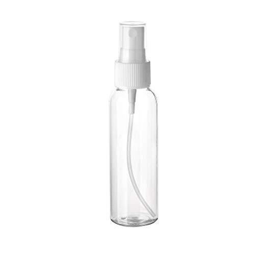 AIUIN Botella de Spray de Plástico Pet de 60 ml Cosméticos Botellas de Plástico de Niebla Fina Frascos de Spray Vacía Conjunto de Botellas con Niebla Fina para Viajes (Botella Vacía,1 pcs)