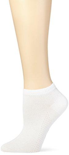 Nur Die Damen Air Active Socke Strick Füßlinge, Weiß (Weiß 920), 39/42
