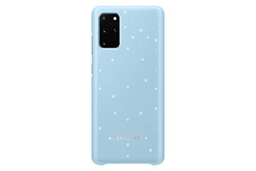 Samsung Galaxy S20+ (Plus) Case, Protective Smart LED Back Cover (Blue)