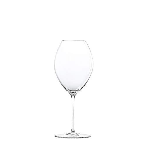 Spiegelau Novo Rotwein, Rotweinglas, Rotwein Glas, Weinglas, Kristallglas, 600 ml, 1300001