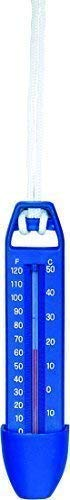 well2wellness® Poolthermometer Schwimmbad Thermometer Blau - 16,5 cm (024388)