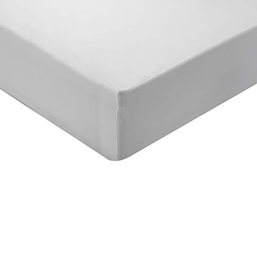 Pikolin Home - Protector de colchón con tratamiento antiviral impermeable y transpirable eficaz contra todo tipo de bacterias Cama de 105 - 105 x 190/200 cm
