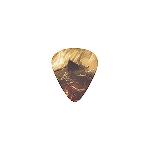 Berserk - Púas de guitarra para guitarra acústica y eléctrica, 12 unidades