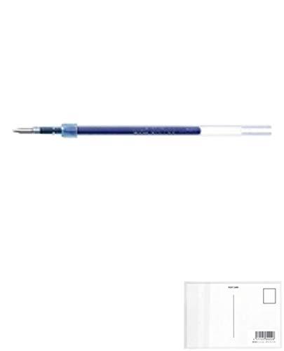 三菱鉛筆 油性ボールペン替え芯 SXR-38 青 33 『 2セット』 + 画材屋ドットコム ポストカードA